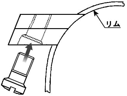 傾斜リムロック図