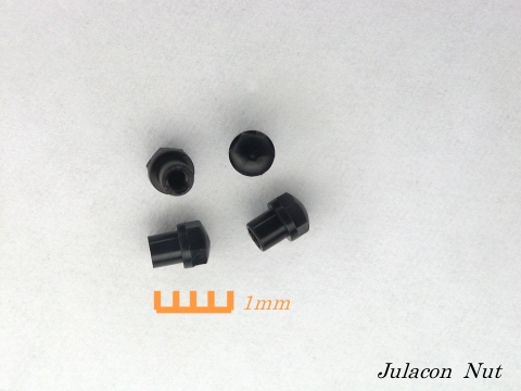 黒ジュラコンのナット加工品
